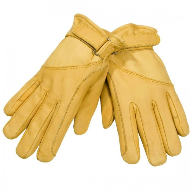 Handschuhe schonen deine Hände während der Arbeit mit dem Seil.