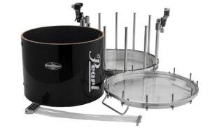 HT Marching Snare Drum zerlegt.